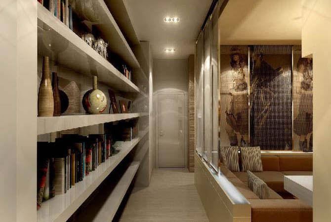 пример дизайна интерьера малогабаритных квартир