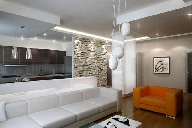 дизайн однокомнотной квартиры 40кв метров