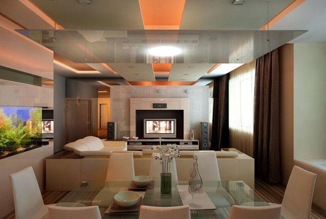 дизайн интерьеров маленькой комнаты