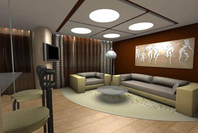 дизайн квартиры в dj стиле