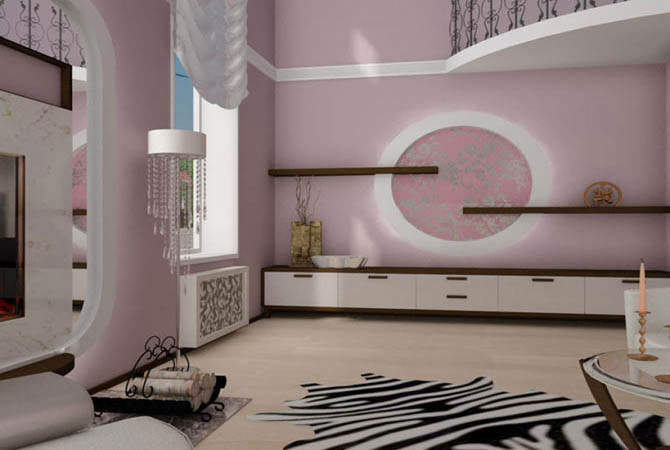 интерьер комнаты из русских народных сказках