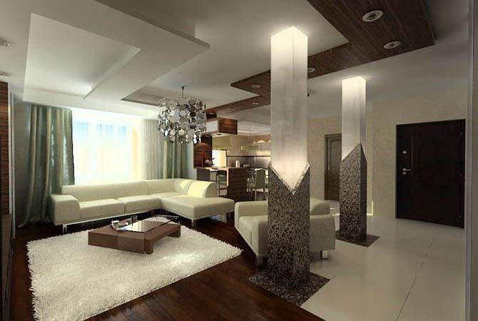 новинки оформления интерьера квартиры шторы