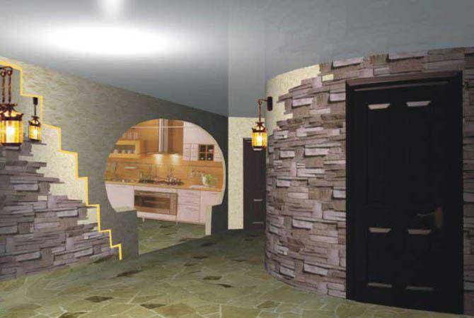 дизайн комнаты в карандаше