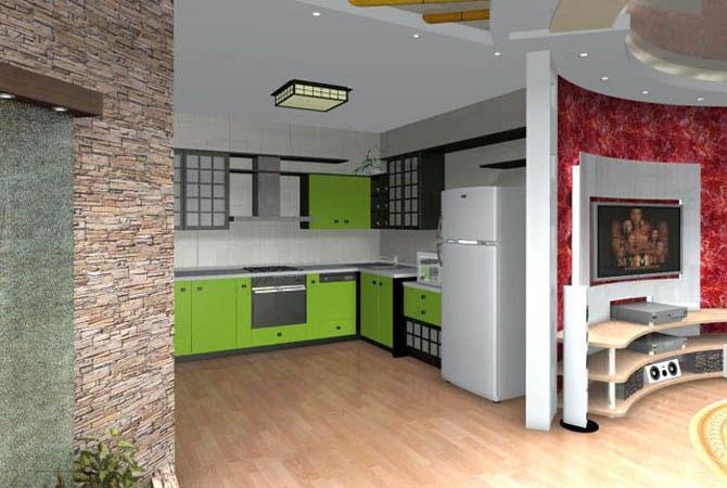 фото дизайна квартир с цветами