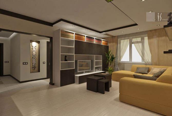 дизайн проекты интерьеров квартир - рисунки эскизы