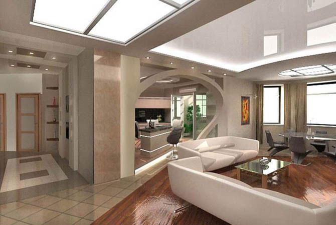 внутренняя отделка двухэтажных квартир
