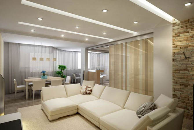 дизайн комнаты для троих