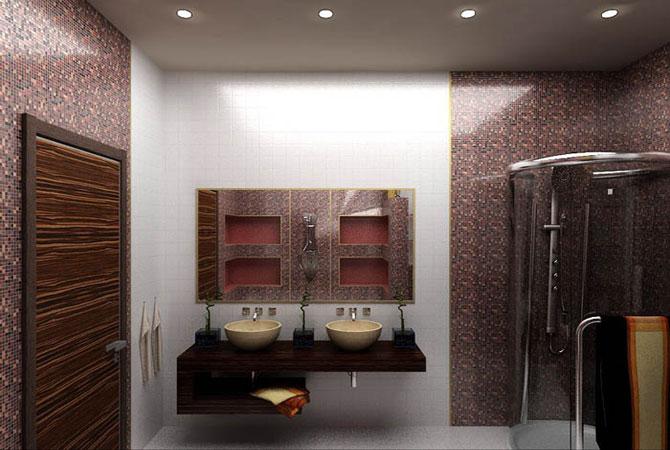 дизайн гостинной комнаты с лестницей