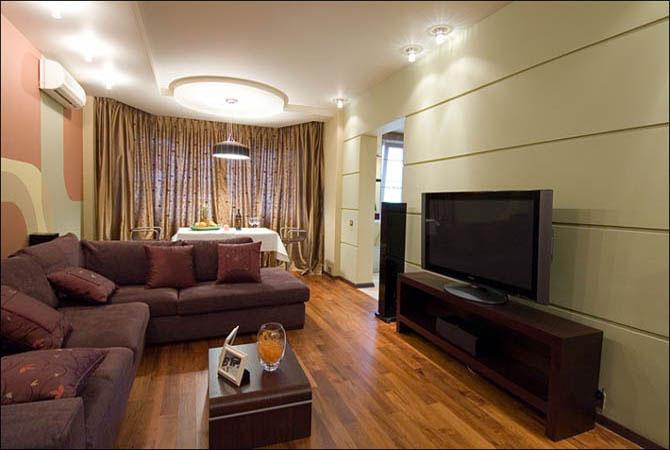 портофолио дизайна интерьера жилого дома