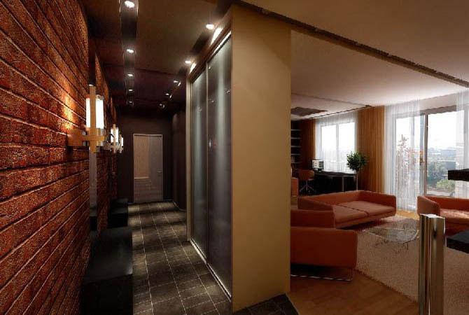 интерьер комнат с желтыми полами