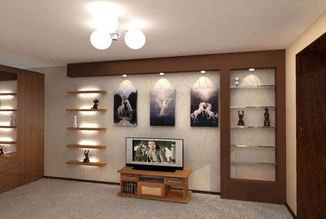 дизайн и оформление интерьера квартиры панельного дома