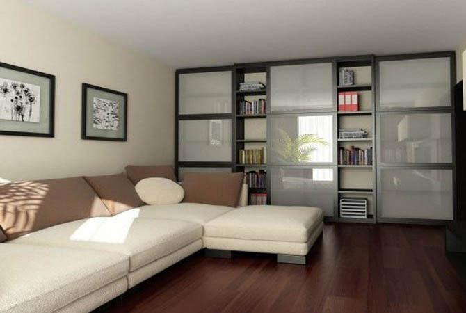 дизайн комнаты с растениями