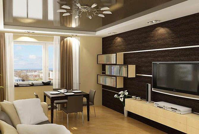 дизайн квартир с высокими потолками
