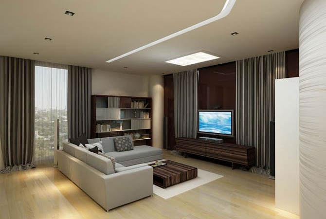 дизайн комнат с электро камином