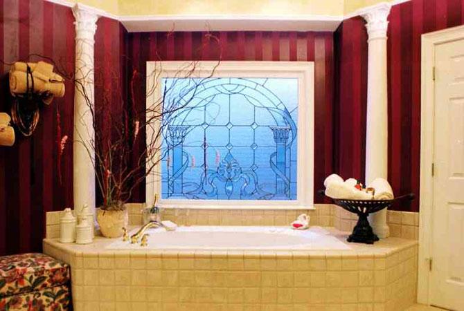 самодельный интерьер розовой комнаты
