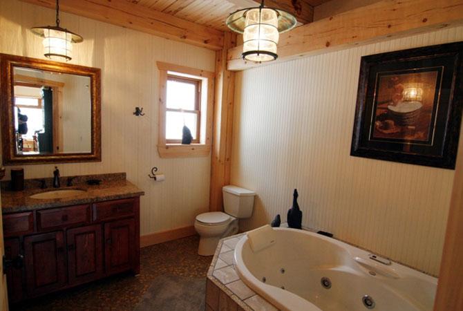интерьер ванной комнаты плитка с камушками