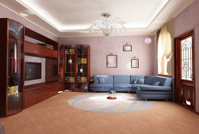 интерьер 2 ух комнатной квартиры