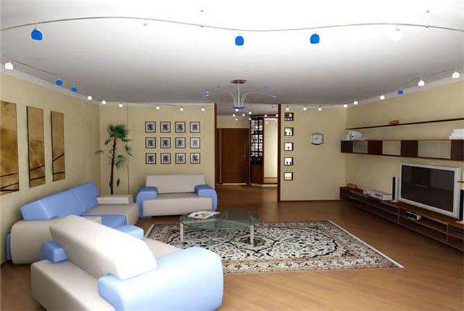 интересные решения дизайна однокомнатной квартиры