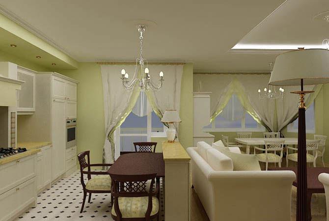 перепланировка двухкомнатных квартир в домах серии п44т
