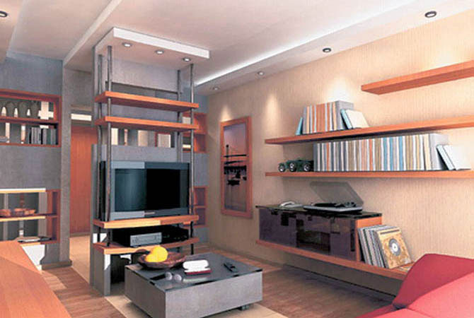 как оформить интерьер маленькой комнаты