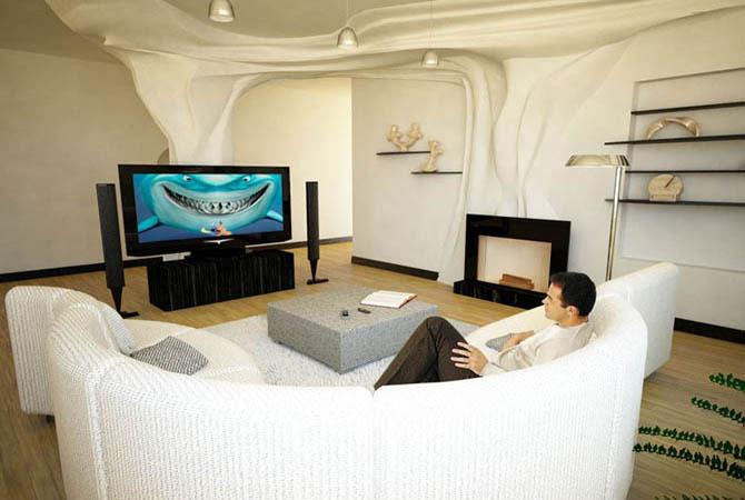 обои дизайн интерьера квартир фото