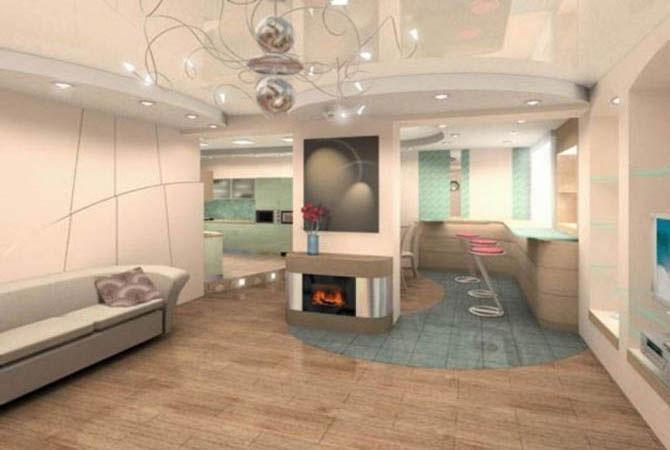 навесные потолки для квартир проекты дизайнеров