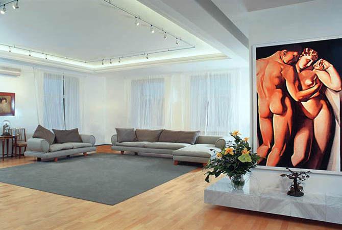 фото интерьера узких комнат