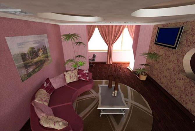 дизайн гостинной комнаты мебель
