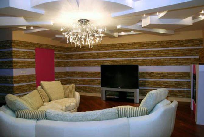 дизайн современных квартир роспись стен
