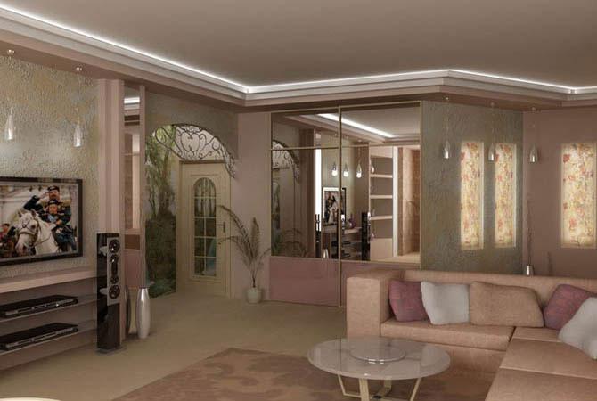 готовые квартиры котеджи дизайн фото