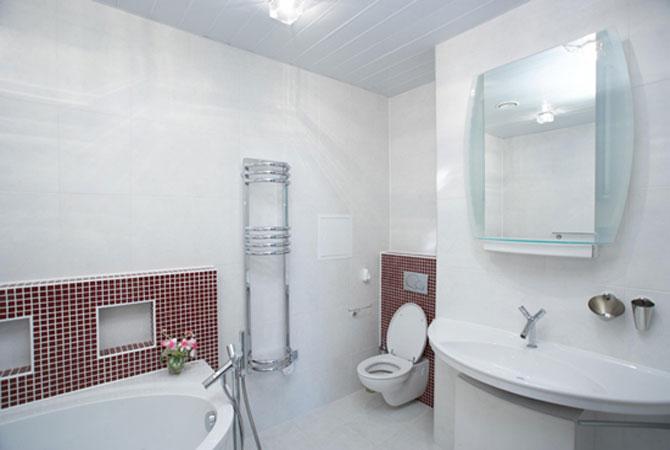 школа ремонта подвесные потолки в ванной комнате