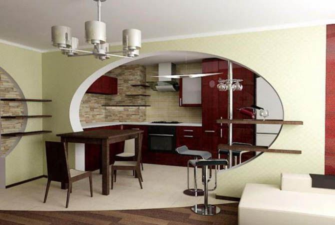 дизайн кухонь в квартирах серии п-46м