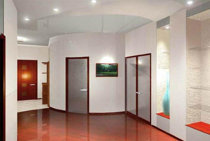 дизайн потолков в квартире из потолочной плитки