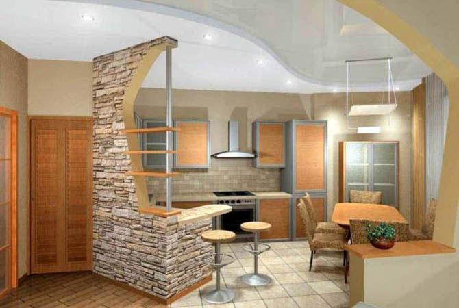 ремонт квартиры под камень