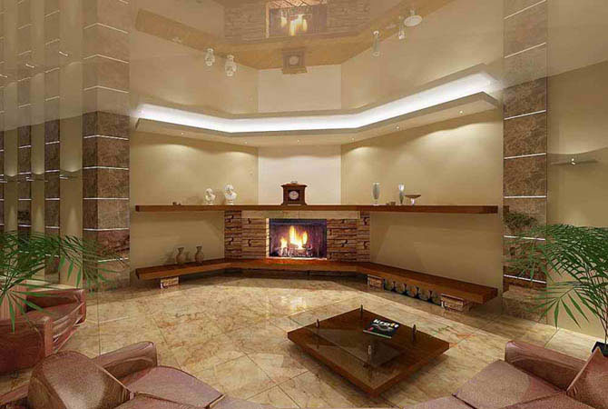 примеры интерьер ванной комнаты