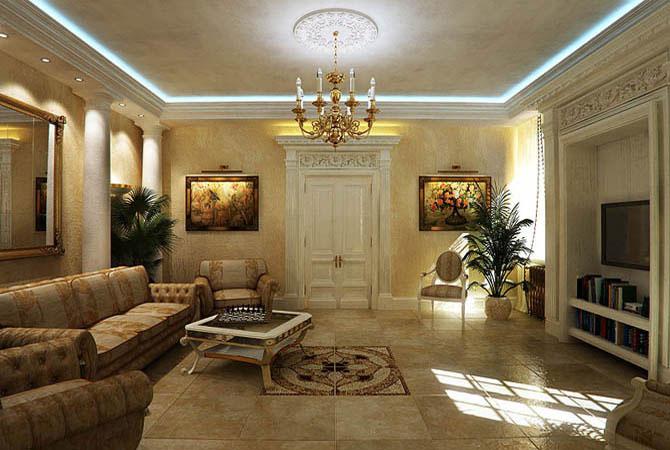 готовый дизайн квартиры бесплатно