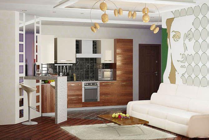 перепланировка однокомнатной квартиры серии копэ
