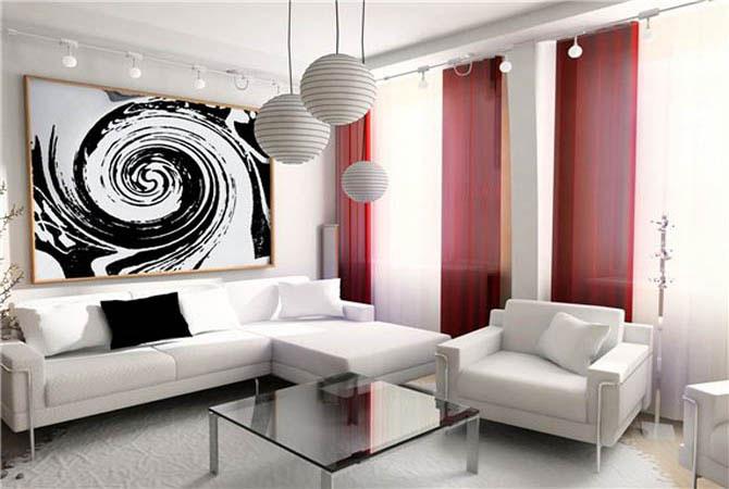 электрокамины в интерьере квартиры