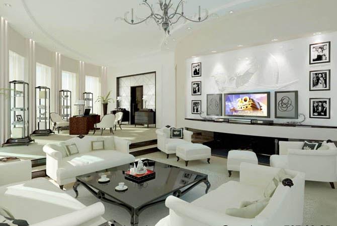 интерьеры дизайн комнаты рисунки