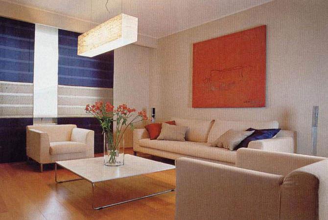 интерьер комнаты в деревянном доме