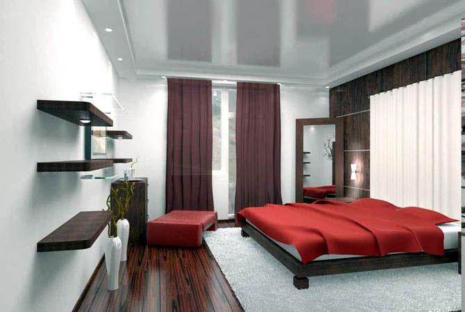 посмотреть дизайн комнаты оббитой вагонкой