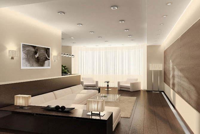 дизайн и обстановка мебели в квартирах