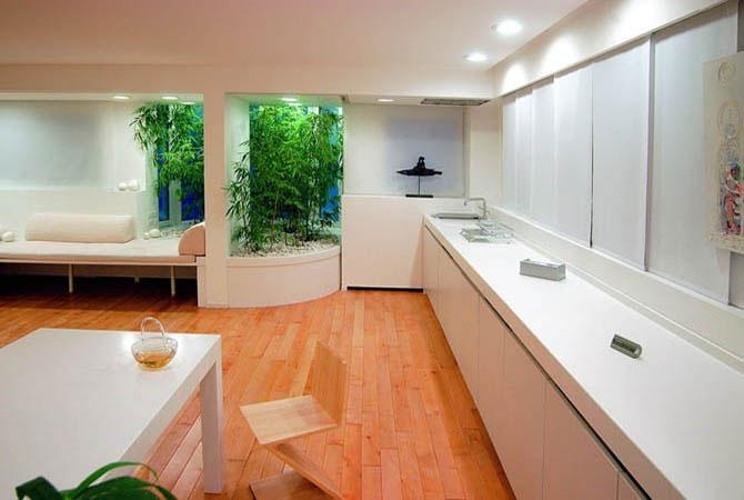 дизайн и интерьер квартиры площадью 18 м2