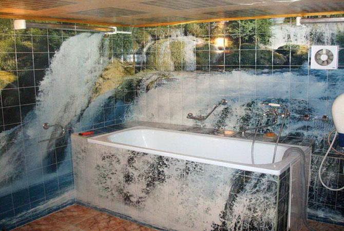 дизайн ванной комнаты греческая ванная