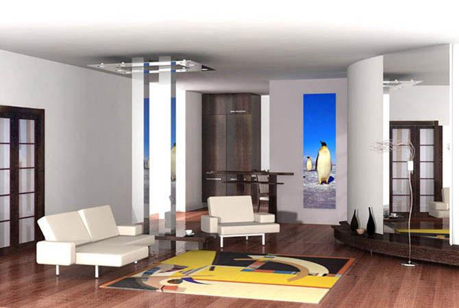 красивые ремонты квартир фото минимализм и хай-тек